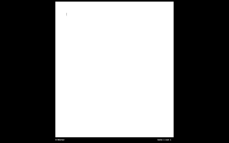 Pages im Fullscreenmodus