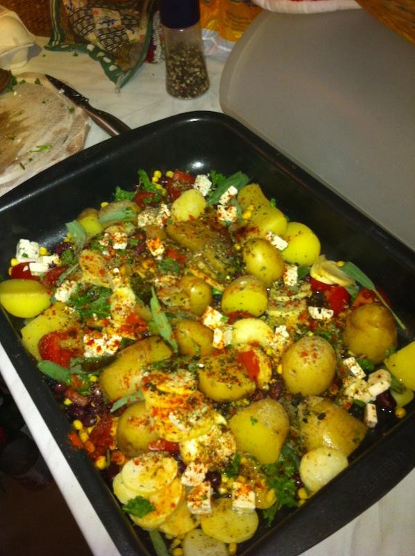 Kartoffeln fertig zubereitet